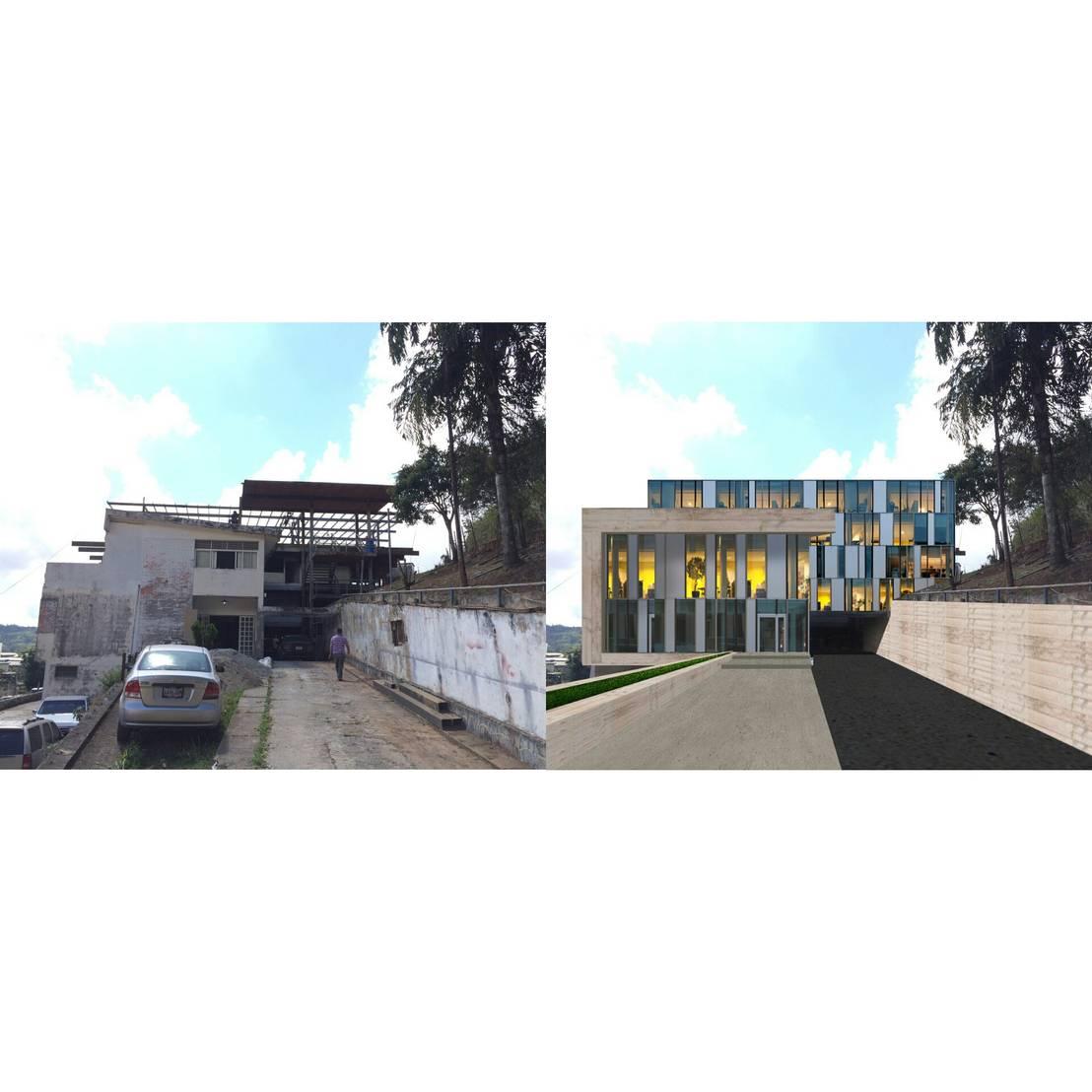 Oficinas centrales de instalaciones deportivas por for Blau hotels oficinas centrales