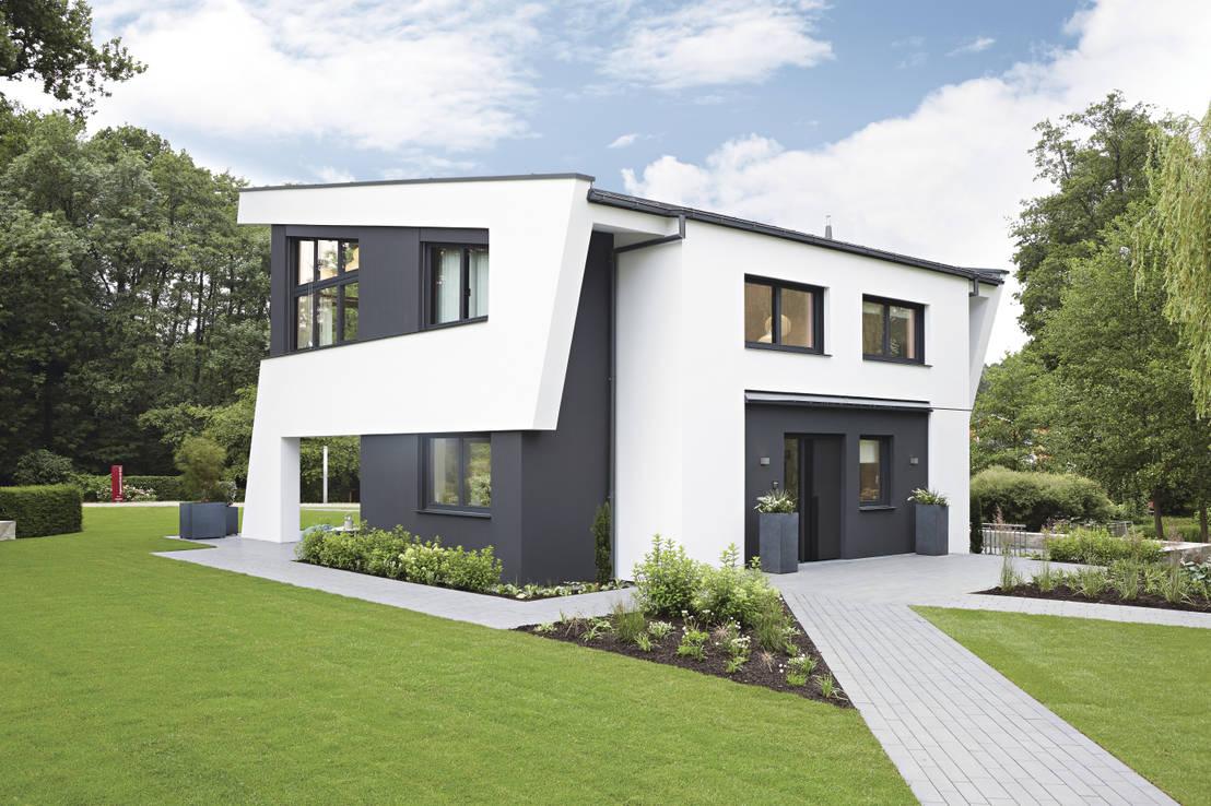 musterhaus rheinau linx individual de weberhaus homify. Black Bedroom Furniture Sets. Home Design Ideas