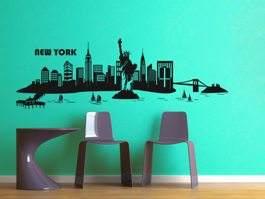 new york von k l wall art homify. Black Bedroom Furniture Sets. Home Design Ideas