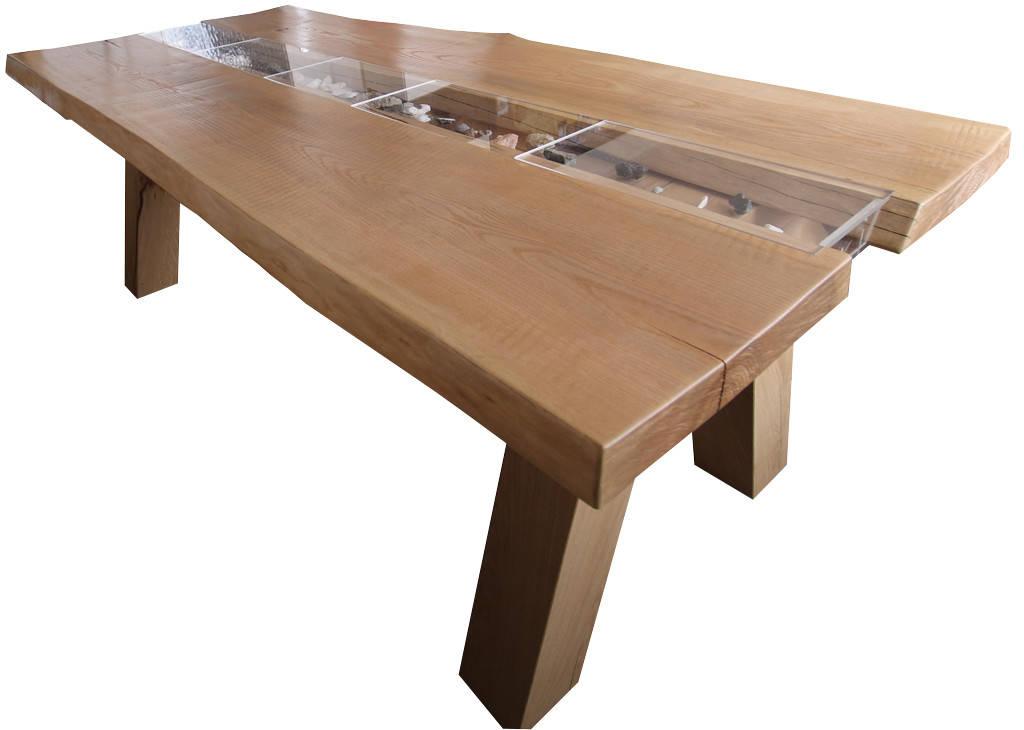 tisch mit bank aus esche massiv von schreinerei m bel holzsport h upler homify. Black Bedroom Furniture Sets. Home Design Ideas