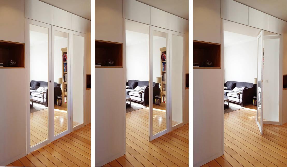 aur lie meuble de s paration sur mesure par batiik studio homify. Black Bedroom Furniture Sets. Home Design Ideas
