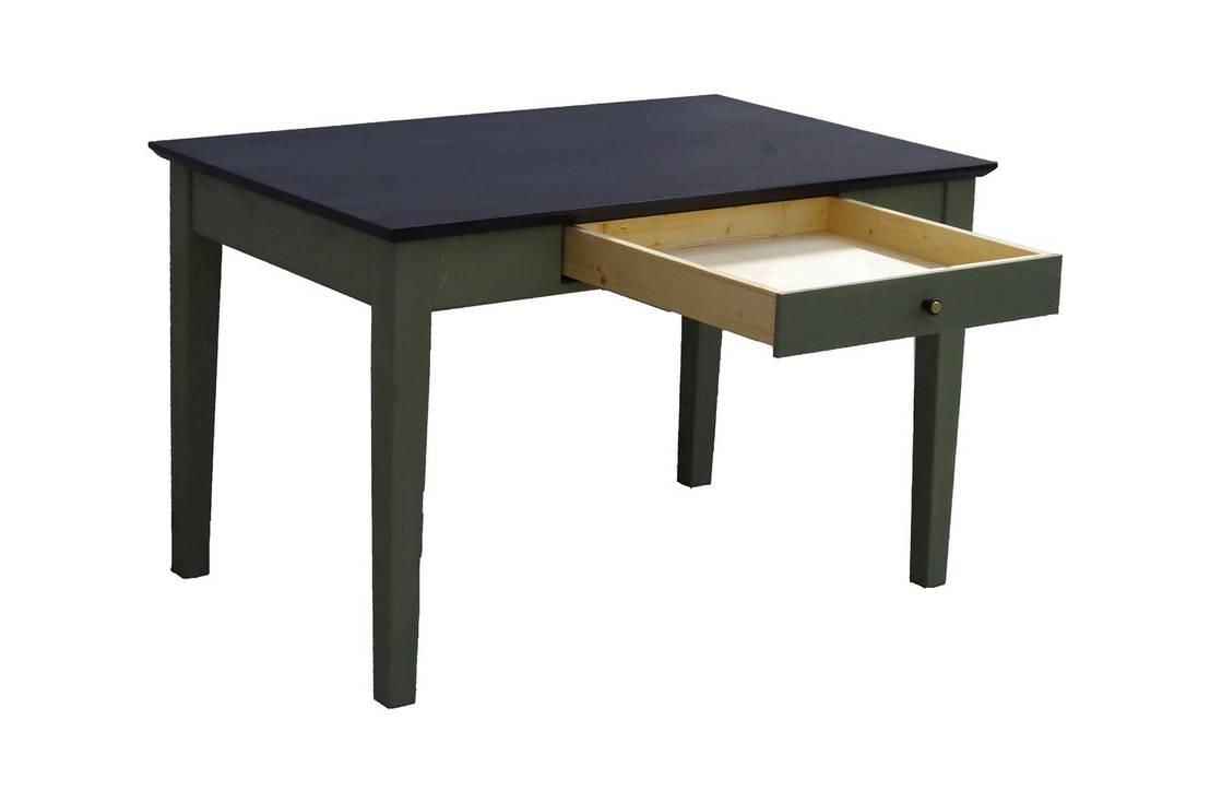 Edelrift tisch im 50er jahre design de tischmanufaktur for Tisch 50er design