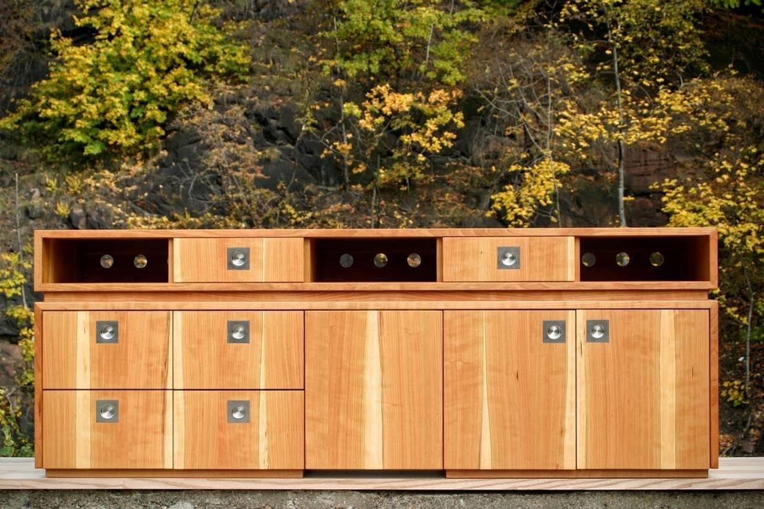 schrank und sideboard von atelier sinnesmagnet homify. Black Bedroom Furniture Sets. Home Design Ideas