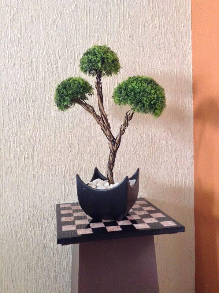 Decoraci n con bonsais para el hogar u oficina by villa for Adornos para el hogar
