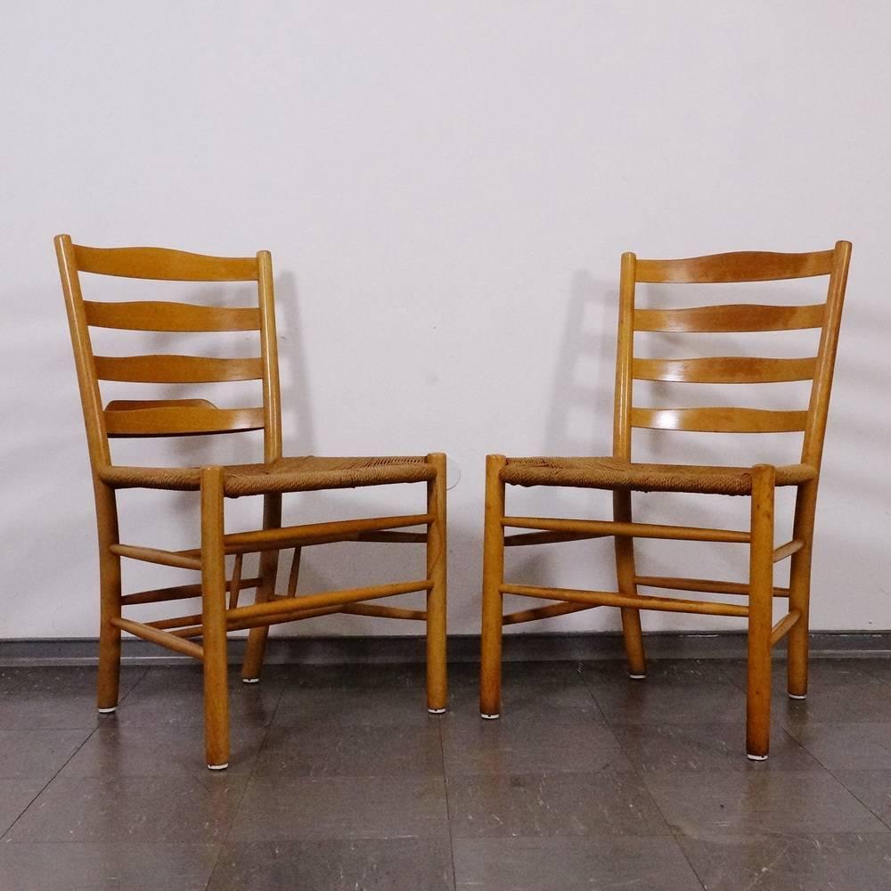 100 Kirchenstühle Stühle Kaare Klint Für Fritz Hansen Dänemark