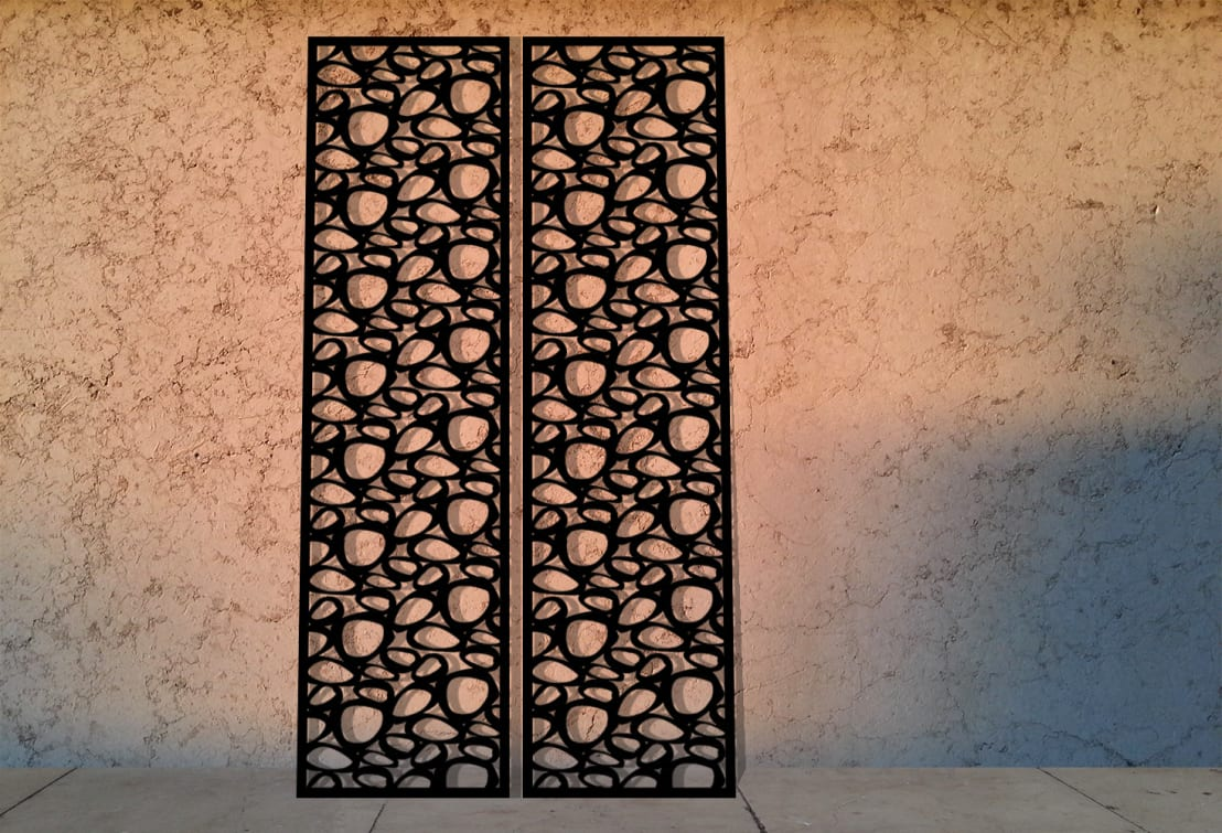 Organic Circles Laser Cut Screens And Laser Cut Panels By