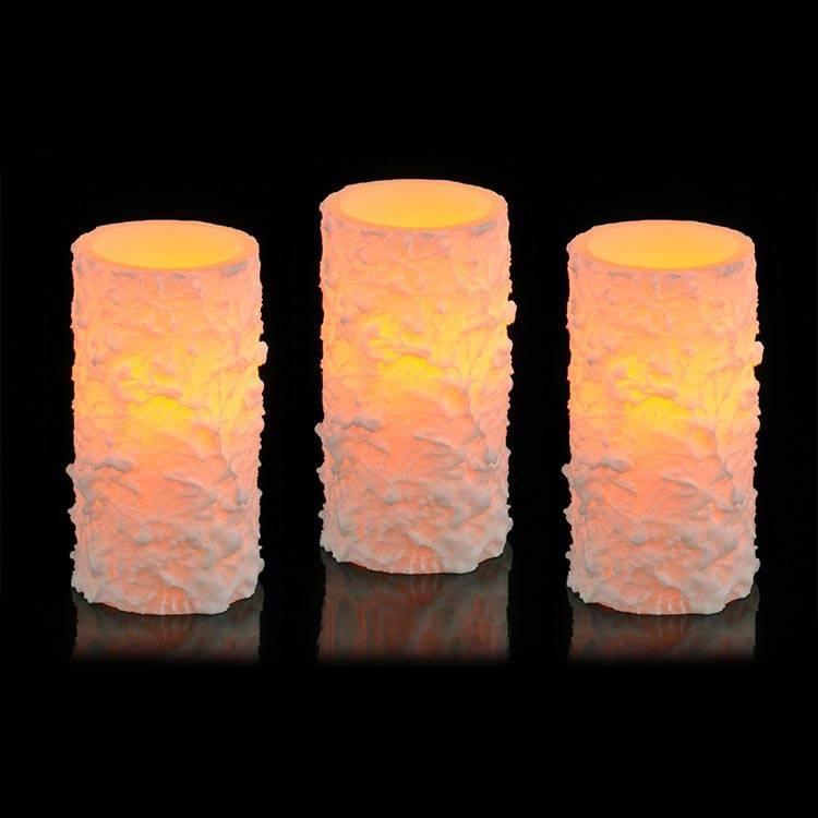 3er set flammenlose led kerze von lesara homify. Black Bedroom Furniture Sets. Home Design Ideas