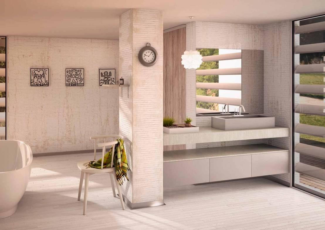 Ambientes para muebles de ba o de d3en3d homify - Disenadores de interiores barcelona ...