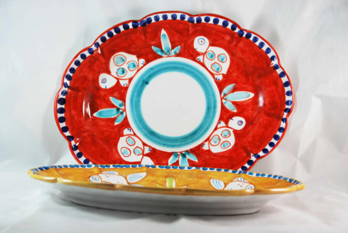 Piatti da portata por ceramiche di vietri homify - Piatti da portata particolari ...