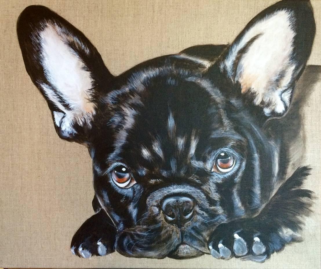 tableaux animaliers les chiens de odile laresche artiste peintre animalier homify. Black Bedroom Furniture Sets. Home Design Ideas