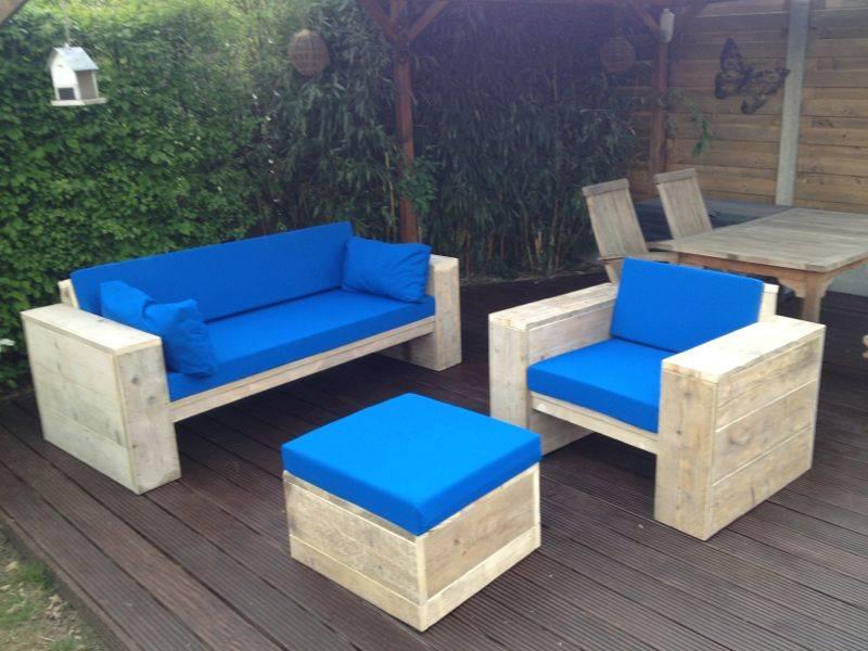 bauholz lounge set g ppingen von exklusiv dutch design. Black Bedroom Furniture Sets. Home Design Ideas