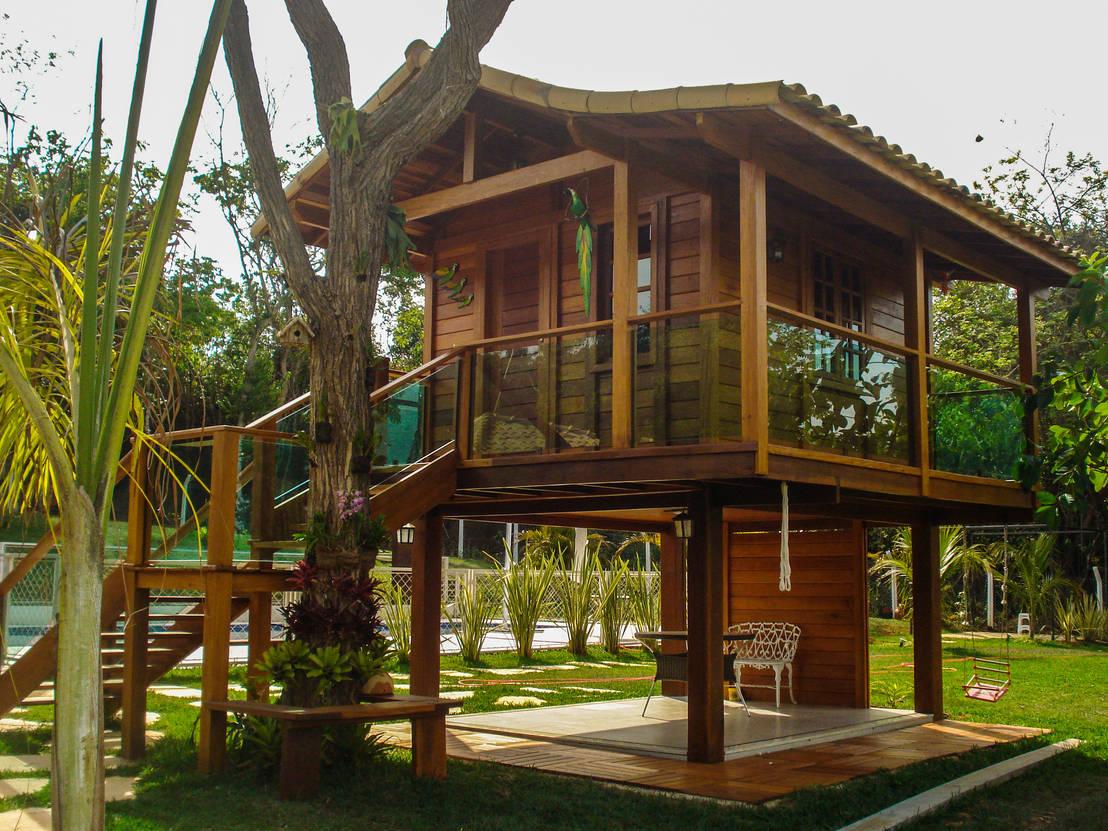 Casinha de crian a por casa campo casas pr fabricadas for Homify casas de campo