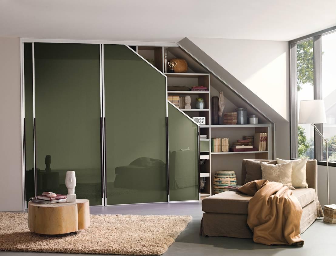 dachschr genschr nke nach ma von cabinet por cabinet. Black Bedroom Furniture Sets. Home Design Ideas