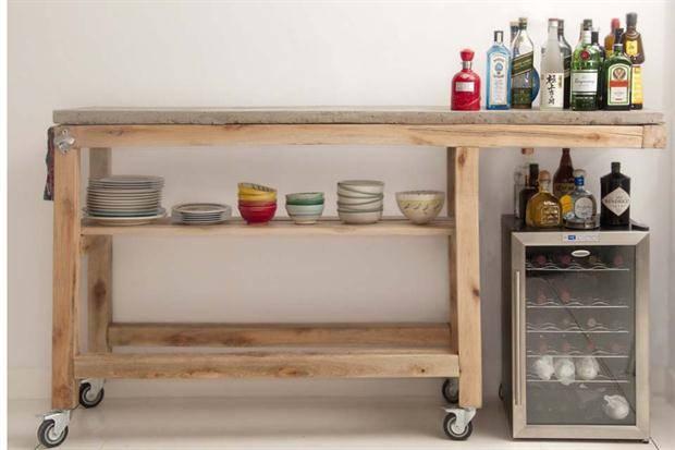 Muebles de hierro por artesanos en hierro homify - Mobiliario de casa ...