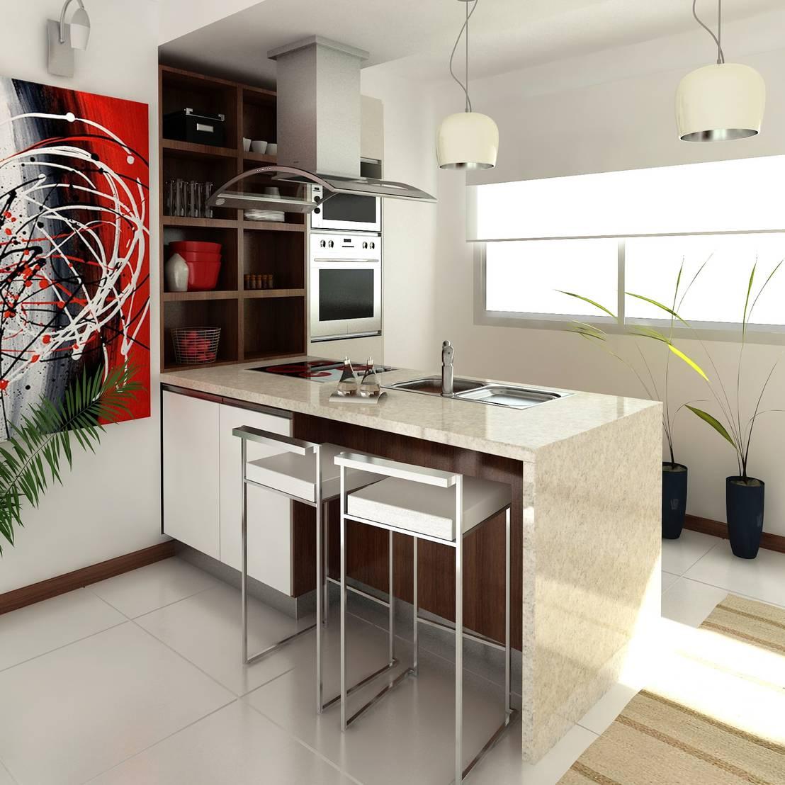22 idee semplici per una cucina moderna e spettacolare for Decorazioni cucina moderna
