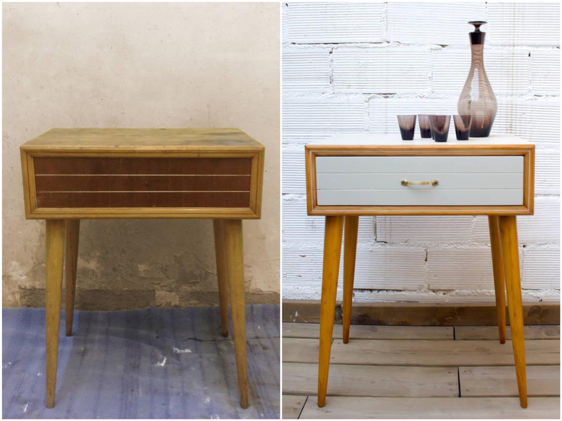 Muebles pintados y transformados de studio alis homify for Muebles de mimbre pintados