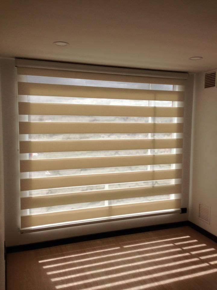 proyecto cortinas tipo sheer elegance white de LA ...