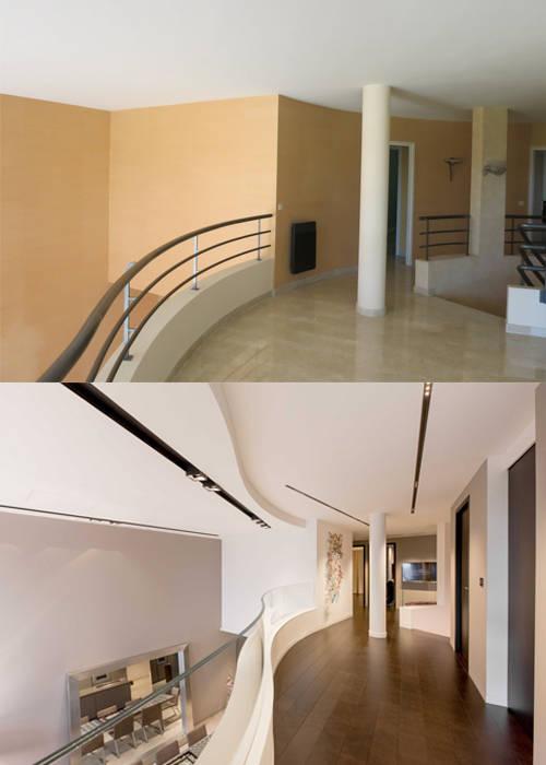 r novation d 39 un loft avant apr s par r home homify. Black Bedroom Furniture Sets. Home Design Ideas