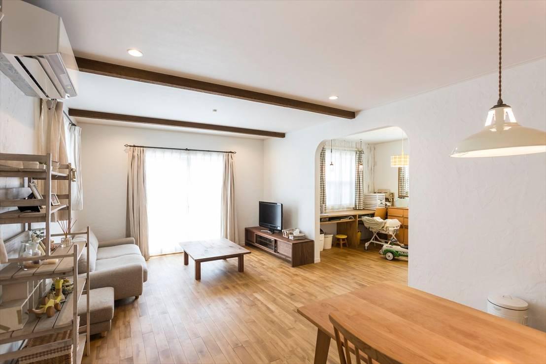 リビングは家具の配置で快適さをアレンジ
