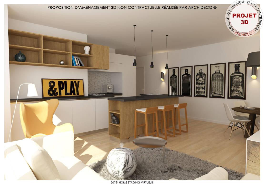 L 39 ouverture c 39 est aussi pour la cuisine de archideco homify - La cuisine c est aussi de la chimie ...