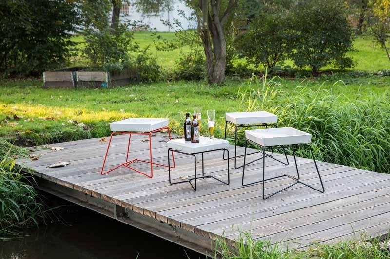 gartenoase mit beton accessoires von betoniu gmbh homify. Black Bedroom Furniture Sets. Home Design Ideas