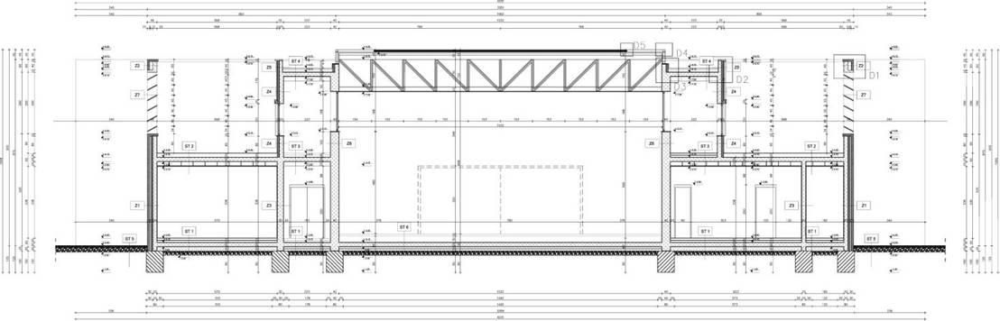 architektur schnitt von bgt bau grueters tuemmers homify. Black Bedroom Furniture Sets. Home Design Ideas