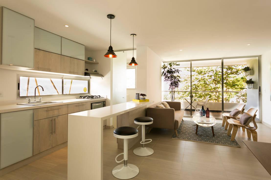 Apartamento modelo bianco sabaneta antioquia de cristina for Decoracion de interiores medellin