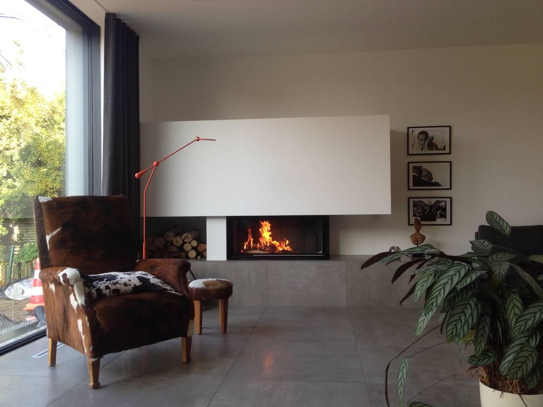 designkamin holzfeuerung von kaminbau krause homify. Black Bedroom Furniture Sets. Home Design Ideas