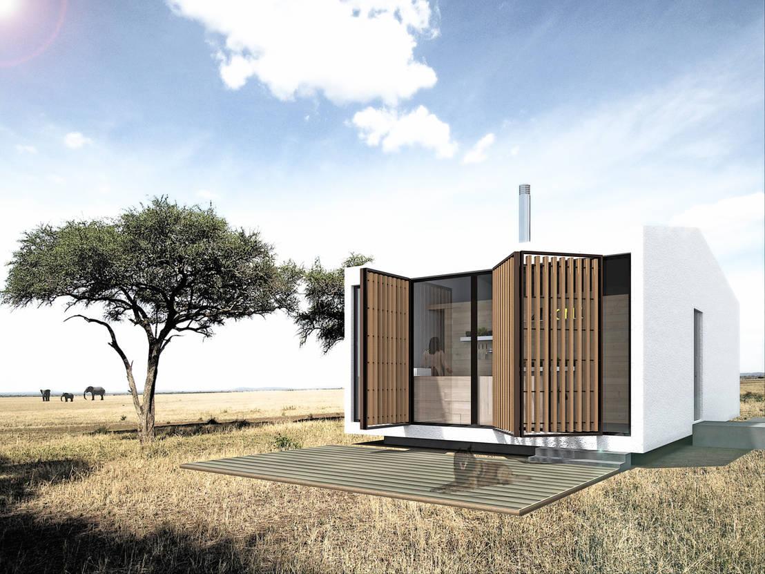 Casas modulares homie4all de archdesign lx homify for Homify casas