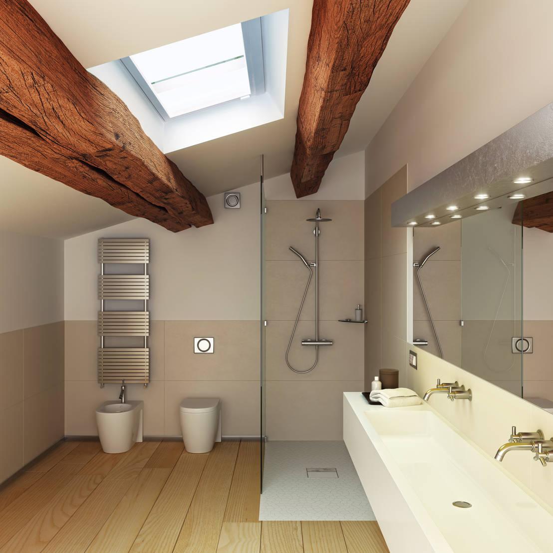 bodengleiche dusche im altbau dank plancofix di jung pumpen gmbh homify. Black Bedroom Furniture Sets. Home Design Ideas