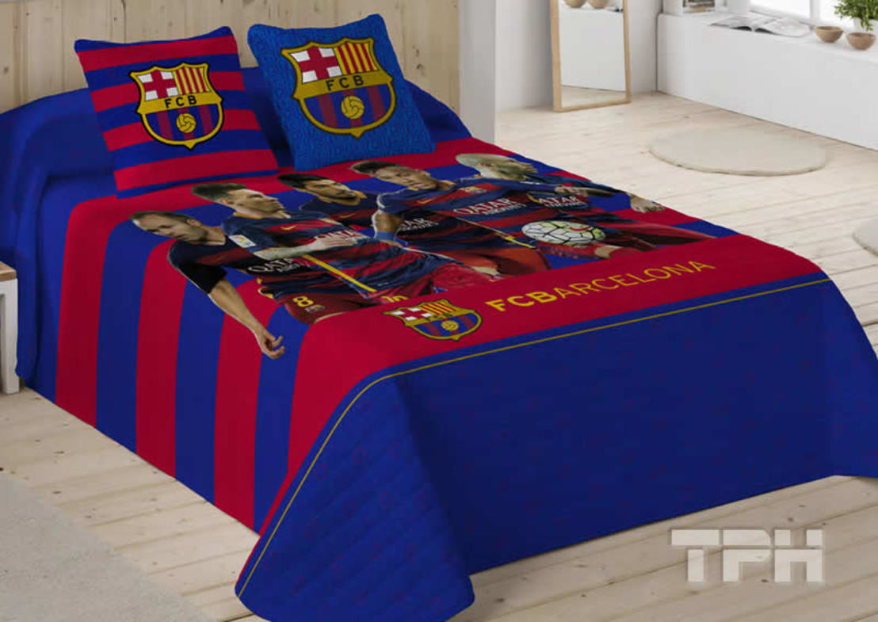 Ropa de cama f tbol club barcelona door tph textil para - Textil para hosteleria ...