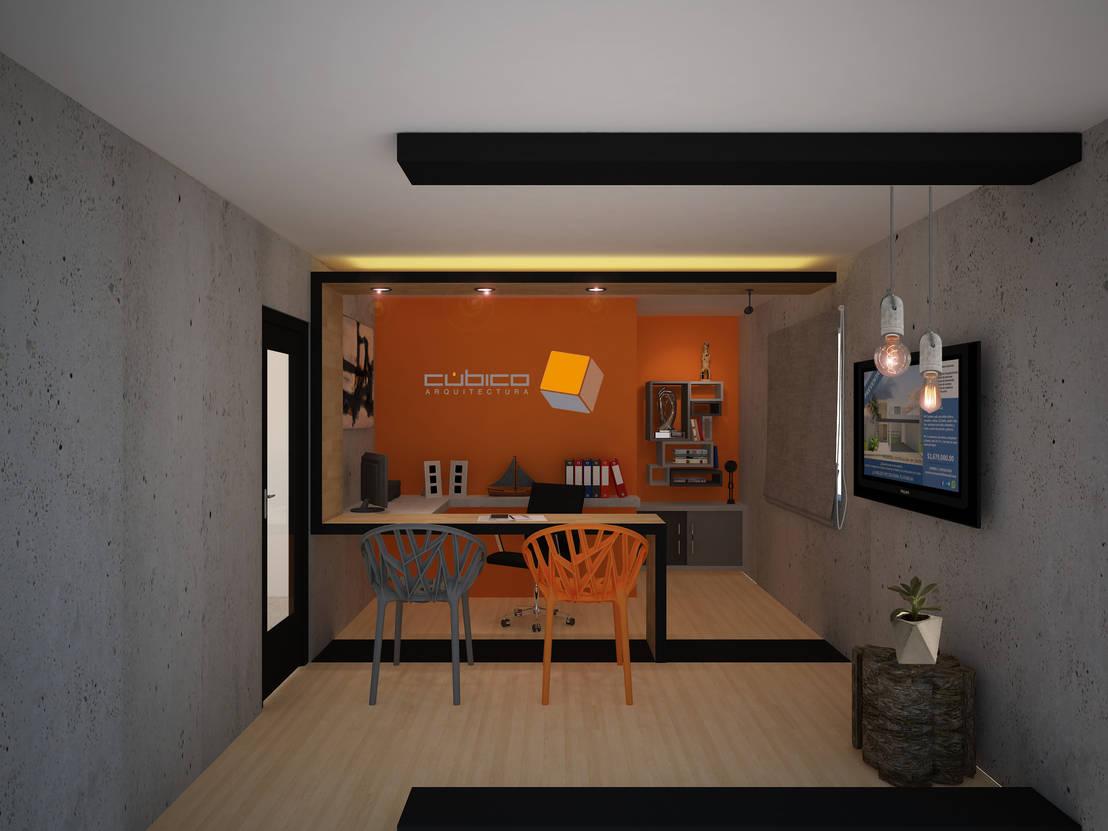 Dise o interior de oficina de constructora asvial s a de c for Disenos de interiores para oficinas
