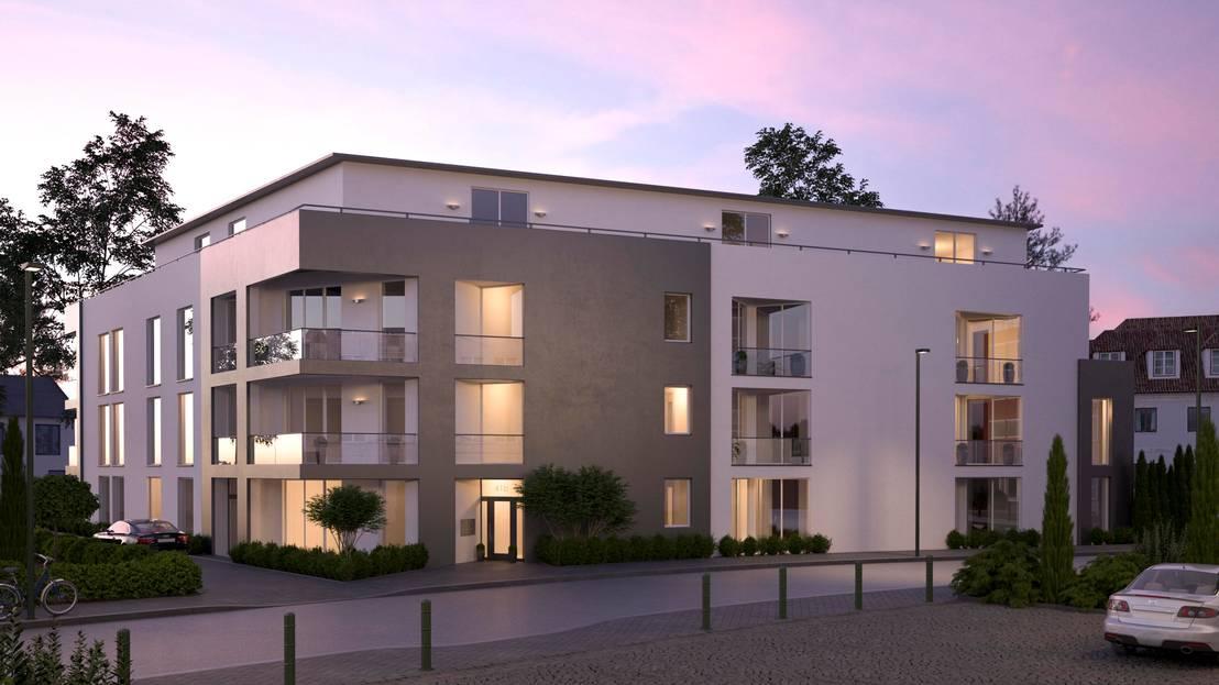 visualisierung mehrfamilienhaus bei d sseldorf von beyond reality architekturvisualisierung. Black Bedroom Furniture Sets. Home Design Ideas