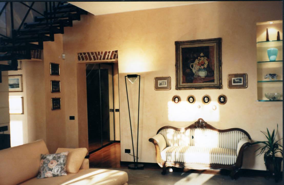 Appartamento su due piani di cardindesign partners homify for Appartamento a due piani