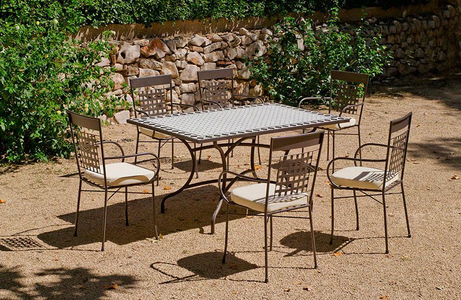 Set mosaico atrium vigo 150 4 4c von hevea homify - Salon de jardin mosaique ...