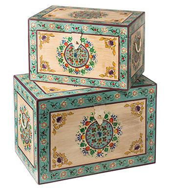 Indian hand painted furniture profesjonalista asia for Hand painted furniture