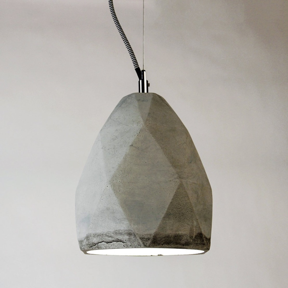 plinth matrix h ngeleuchte aus beton von licht design. Black Bedroom Furniture Sets. Home Design Ideas
