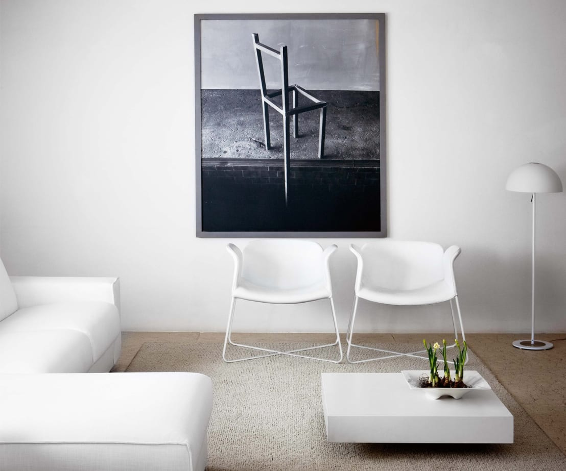 flacher design couchtisch von livarea homify. Black Bedroom Furniture Sets. Home Design Ideas