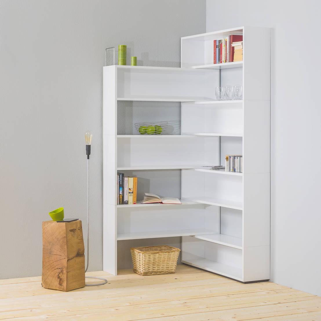 eckhardt das flexible eckregal von noook homify. Black Bedroom Furniture Sets. Home Design Ideas