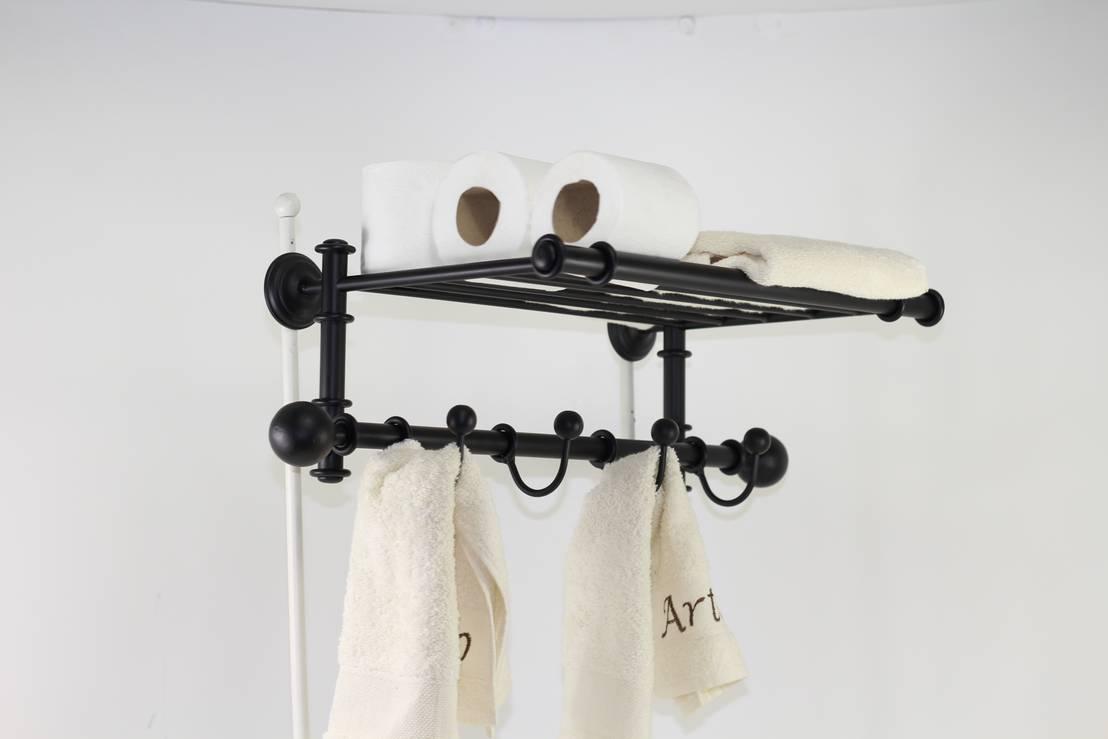 Toallero percha accesorios de ba o ideas para decorar tu for Accesorios para banos toalleros