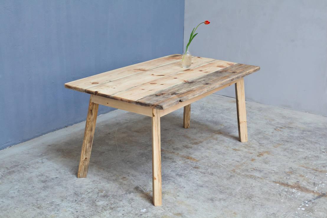 tische im landhausstil por woodboom homify. Black Bedroom Furniture Sets. Home Design Ideas