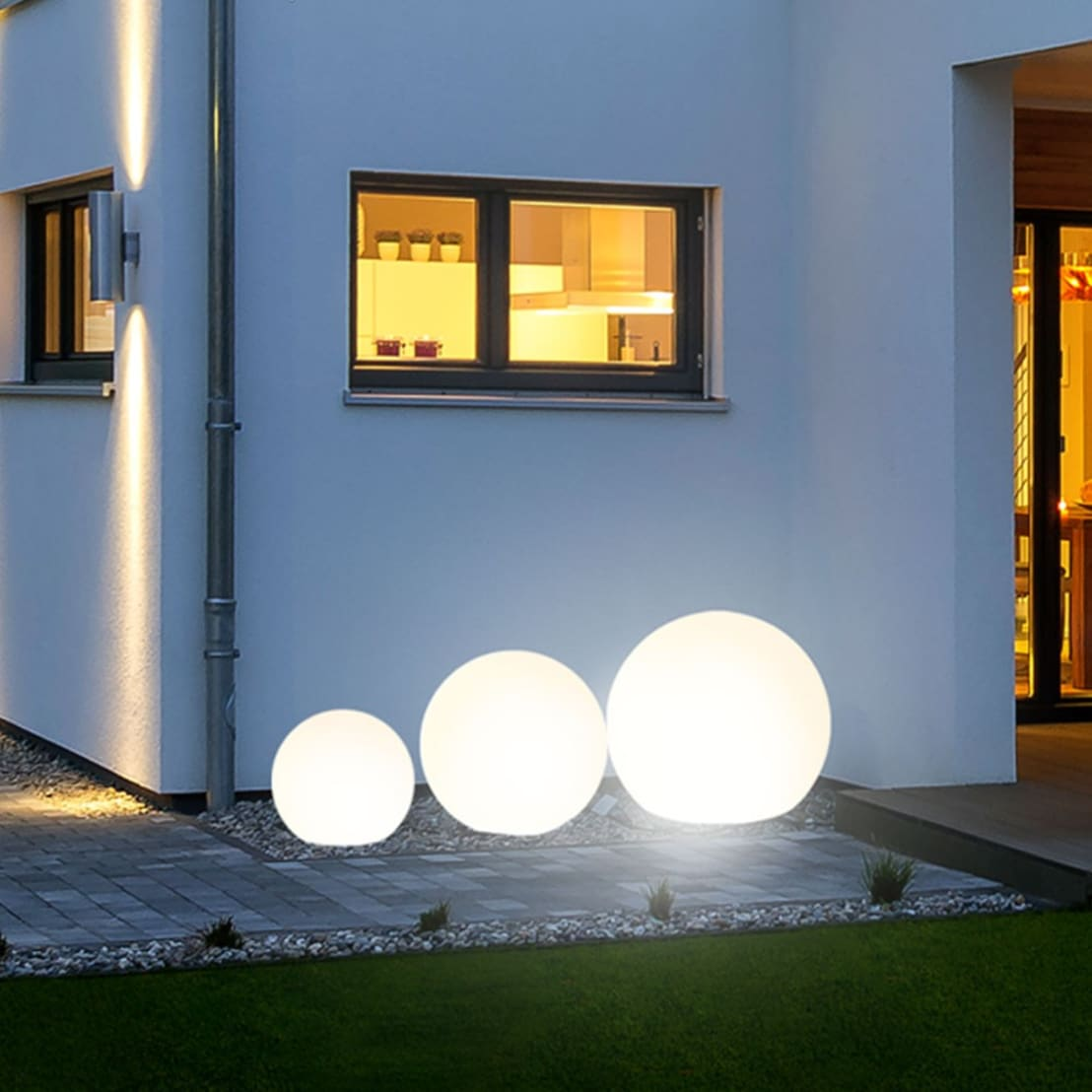 globe garten kugelleuchte 40 cm por licht design skapetze gmbh co kg homify. Black Bedroom Furniture Sets. Home Design Ideas