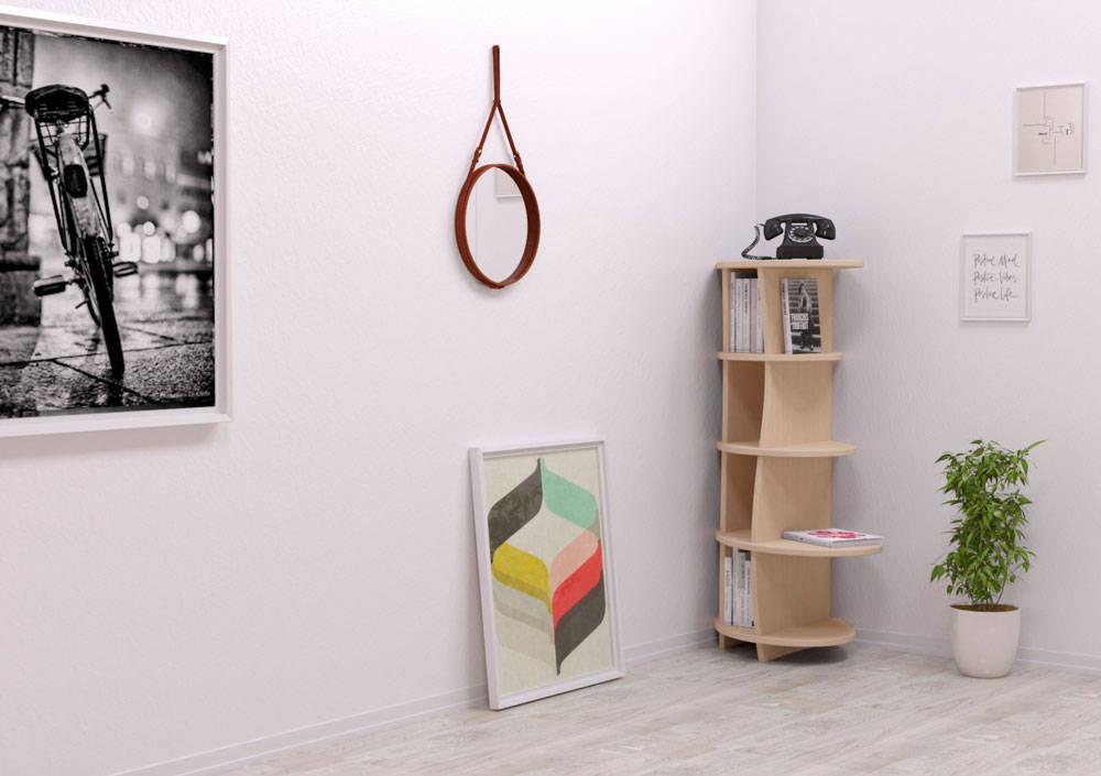 eck regale von homify. Black Bedroom Furniture Sets. Home Design Ideas