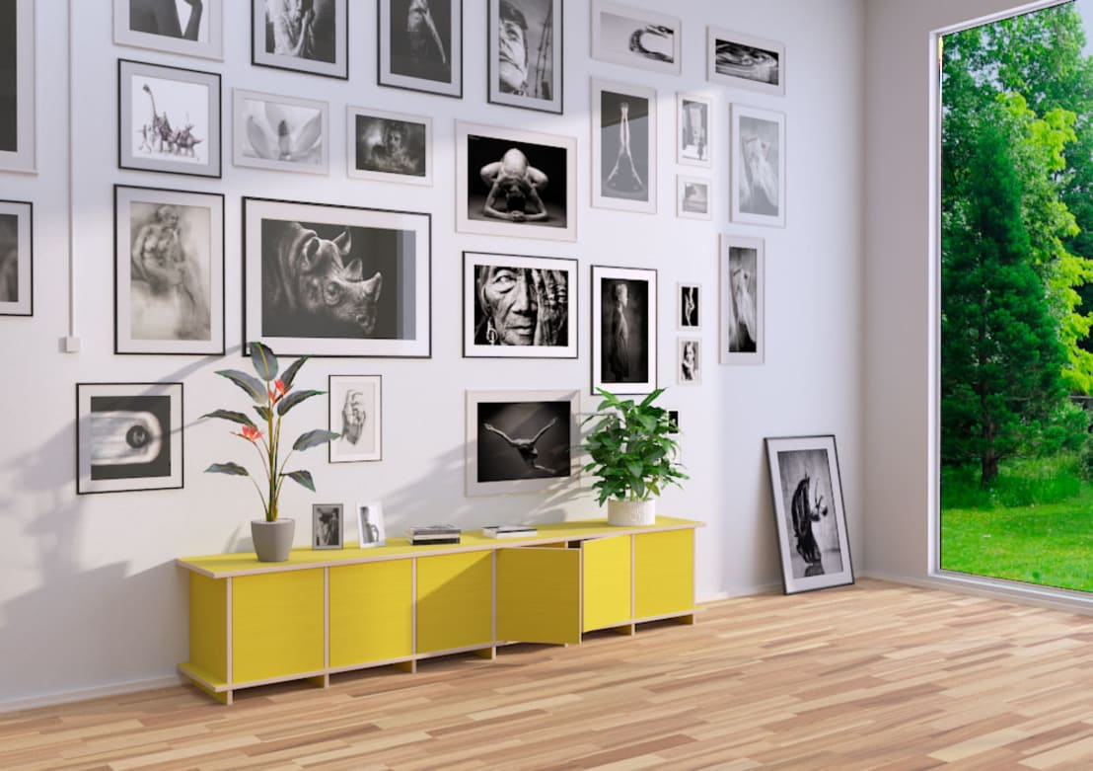 lowboards von homify. Black Bedroom Furniture Sets. Home Design Ideas