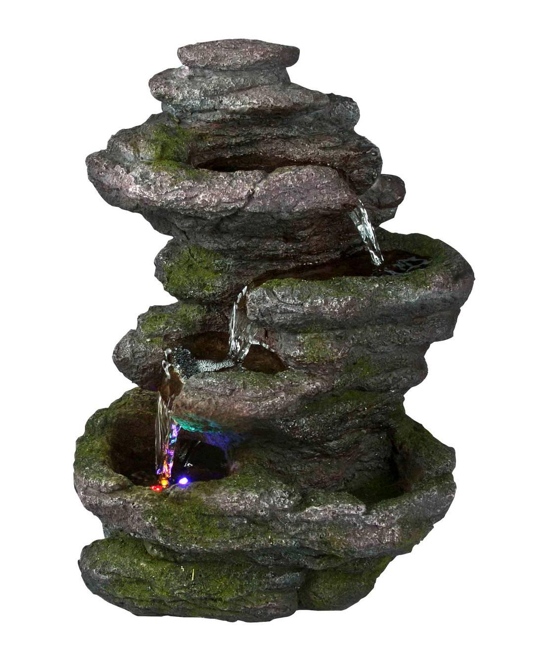 Fuentes de jardin dise o y rocalla by el duende del jardin for Diseno de jardin
