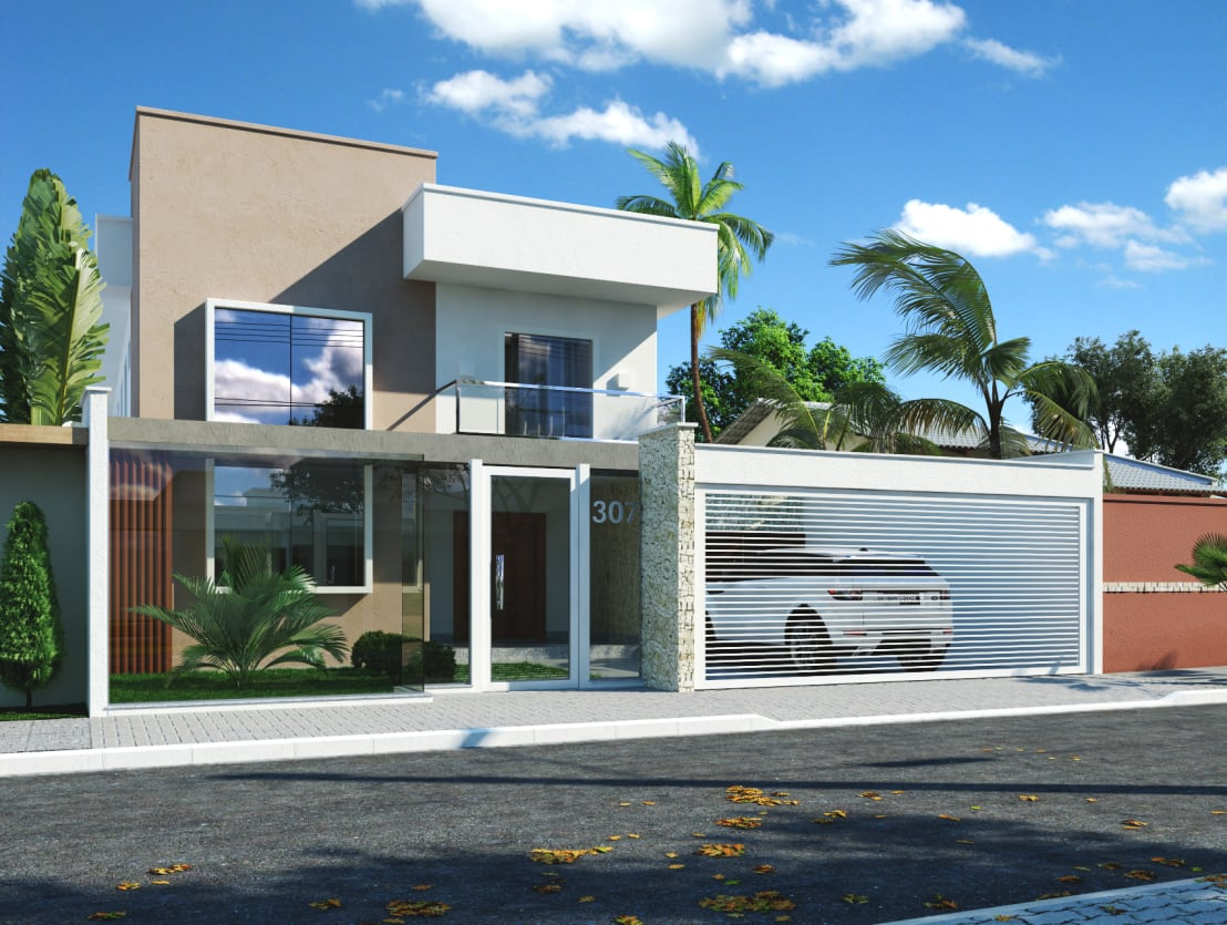 13 ideas para renovar con xito la fachada de tu casa - Ideas para fachadas ...