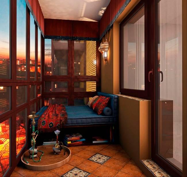 Как превратить маленький балкон в уютное место для отдыха Чё.