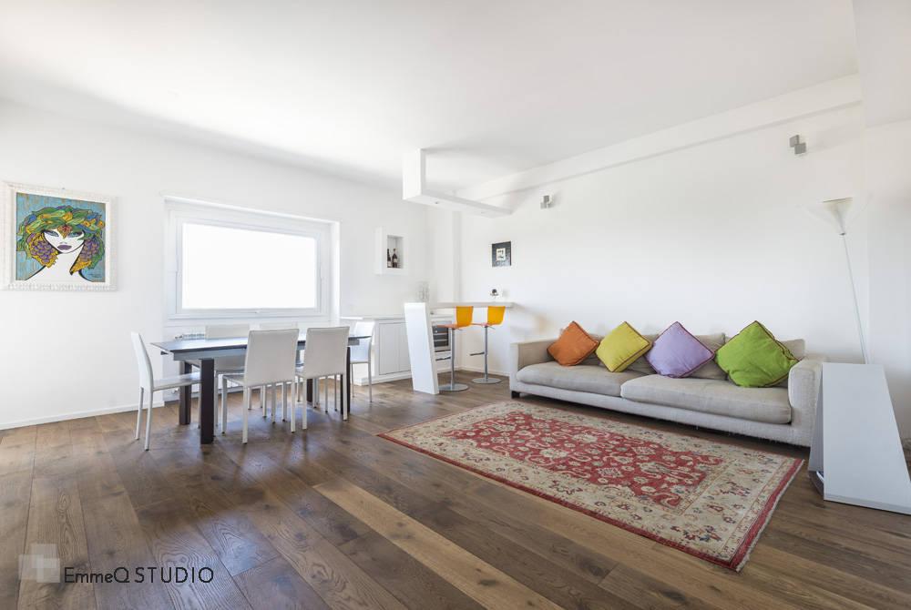 Ristrutturazione appartamento g f di emmeq studio homify for Metraggio di appartamento studio