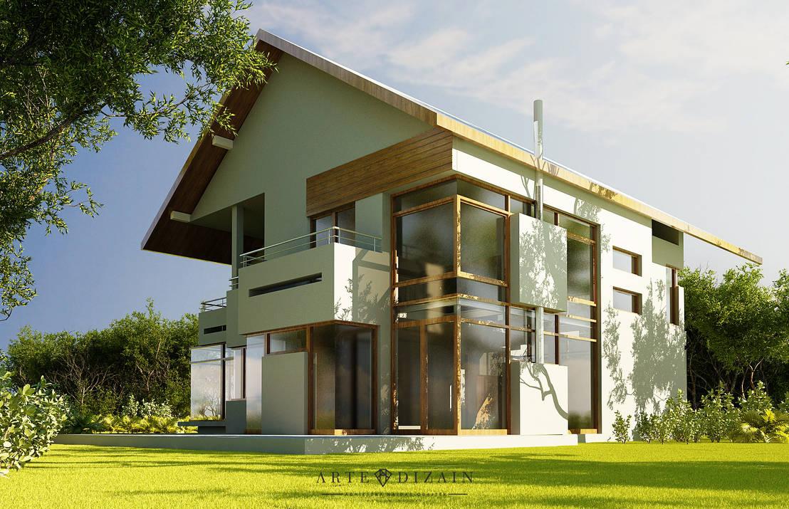 Dom w chwaszczynie by arte dizain agnieszka hajdas for Home get dizain