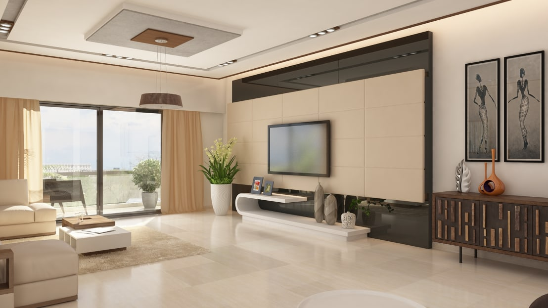 2 bhk apartment interior design by ghar360 homify for 2 bhk flat interior decoration photos